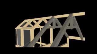 getlinkyoutube.com-ff Primjer konstrukcije krova