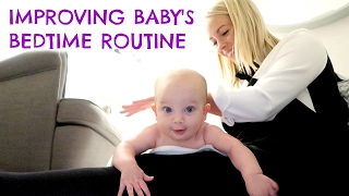 4 MONTH SLEEP REGRESSION & IMPROVING OUR BEDTIME ROUTINE with JOHNSONS ad