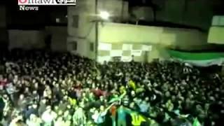 getlinkyoutube.com-اروع مظاهرات حماة - باب قبلي - خافوا الله يا عرب