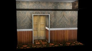 Model Unwrap and Texture a Spooky Coridoor in 3ds Max 2013 with Photoshop and Ndo2