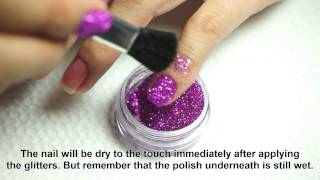 getlinkyoutube.com-Tutorial and Tips: BYS Glitter for Nails