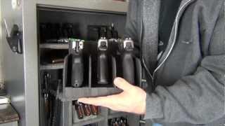 getlinkyoutube.com-Hyskore Foam Pistol Racks (New Safe Update)
