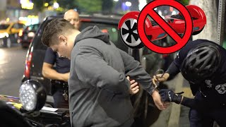 getlinkyoutube.com-WE GOT ARRESTED FOR RIDING A HOVERBOARD! WTF!!! - COPS - Handcuffed - Crime - Illegal