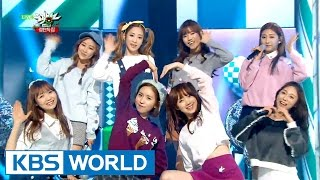 Lovelyz - To My Boyfriend | 러블리즈 - 내 남자 친구에게 [Music Bank Christmas Special / 2015.12.25]