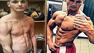 getlinkyoutube.com-Emir Cehajic - 18 years old - Aesthetic Bodybuilding & Fitness Motivation - Natural