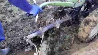 getlinkyoutube.com-кінський плуг перероблений під мотоблок зубр