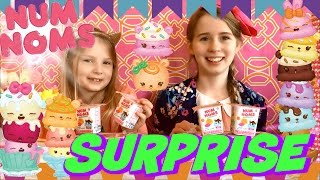 SURPRISE NUM NOMS - BLIND BAGS ULTRA RARE SPECIAL EDITION CUPCAKE AND ICECREAM SCENTED TOYS