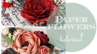getlinkyoutube.com-Paper flowers tutorial