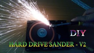 How To Make Hard Drive Sander - v2