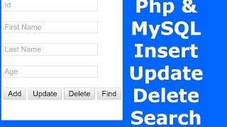 getlinkyoutube.com-Php : How To Insert Update Delete Search Data In MySQL Database Using Php [ with source code ] 2