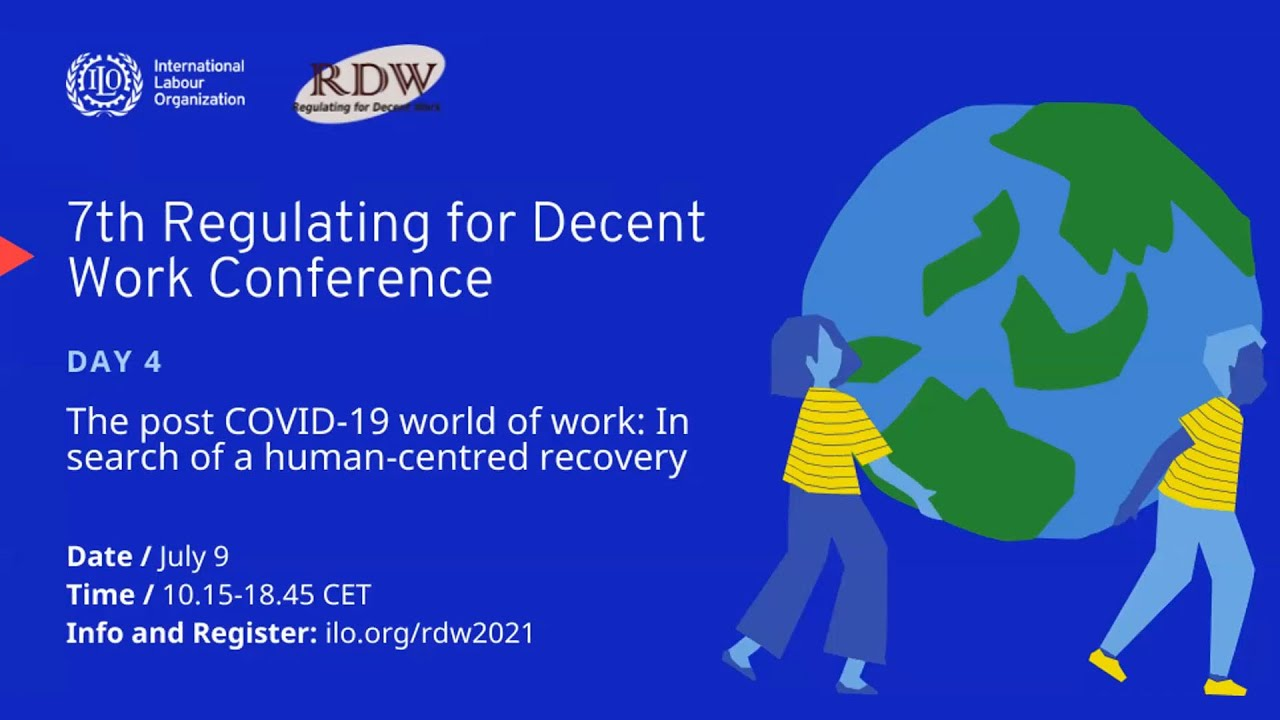 7th Regulating for Decent Work Conference, Dialogue with Richard Samans, Jayati Gosh and Juliet Schor, ILO