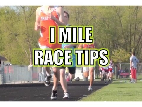 1 Mile Track Race Tips - The 1600 Meter Run