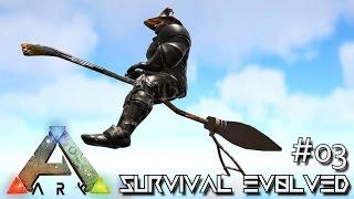 getlinkyoutube.com-ARK: SURVIVAL EVOLVED - NEW FLYING BROOMSTICK & QUETZ TAMING !!! E03 (MODDED ARK MYSTIC ACADEMY)