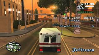 getlinkyoutube.com-GTA San Andreas Paramedic missions