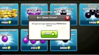 getlinkyoutube.com-coc部落冲突秒双王需要多少宝石,这个视频告诉你。晨曦手游出品