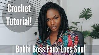 getlinkyoutube.com-Tutorial | Crochet Bomba Bob Faux Locs for under 30 dollars! | Bobbi Boss