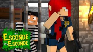 getlinkyoutube.com-Minecraft: YOUTUBERS NA PRISÃO! (Esconde-Esconde)
