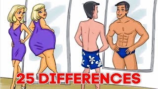 25 Differences Between Men And Women