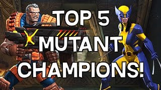 Top 5 Mutant Champions! - Patch 12.0.1 - Marvel Contest Of Champions