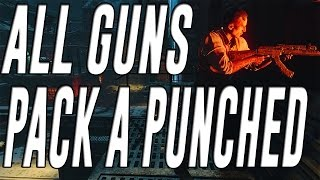 getlinkyoutube.com-All Guns Pack a Punched in Black Ops 3 Zombies