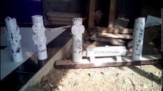 getlinkyoutube.com-Lampu Hias Dari Pipa PVC
