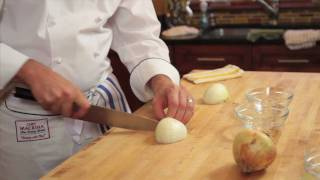In the Kitchen with Brian Hinshaw - Dice an Onion