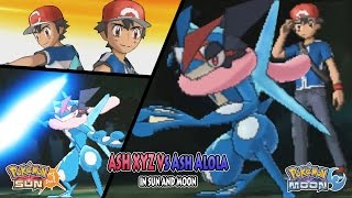 getlinkyoutube.com-Pokemon Sun and Moon: Ash Vs Ash (Ash XYZ Vs Ash Alola)