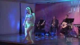 getlinkyoutube.com-Randa Kamel Performing at NYCairo Raks Festival 2016 - Superstars Gala show!