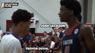 getlinkyoutube.com-Josh Jackson vs Trevon Duval @ UAA Finals In Atlanta