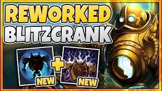 THIS NEW BLITZCRANK UPDATE MAKES HIM META AGAIN?! REWORKED BLITZCRANK GAMEPLAY - League of Legends