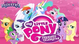 getlinkyoutube.com-My Little Pony Friendship Celebration Cutie Mark Magic (Hasbro, Inc.) - Best App For Kids