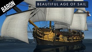 getlinkyoutube.com-Naval Action Age Game - Admiral Nelson's Favorite Tactic?  NEW Ship, the Brig!