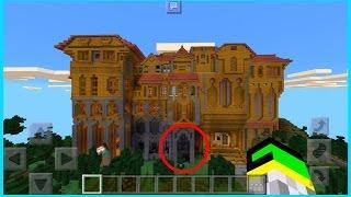 getlinkyoutube.com-La Mansion de HEROBRINE en Minecraft PE 0.16.0