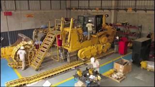 getlinkyoutube.com-Reconstrucción Certificada Caterpillar - Tractor Cat D8T - Taller de Máquinas Ferreyros
