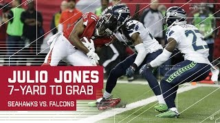 Julio Jones TD Finishes Off 75-yard Drive! | Seahawks vs. Falcons | NFL Divisional Highlights