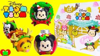 getlinkyoutube.com-24 Tsum Tsum Surprises Christmas Advent Calendar