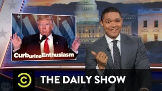 "flushyoutube.com-The Daily Show - Obama Says Goodbye & Trump (Allegedly) Gets a ""Golden Shower"""