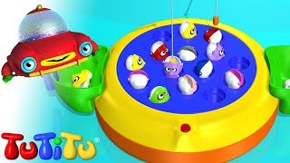 getlinkyoutube.com-TuTiTu Toys | Let's Go Fishin' | Fishing Game for Children