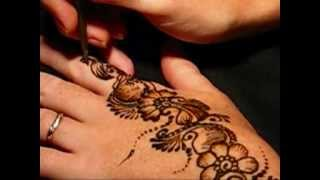 getlinkyoutube.com-Henna Application