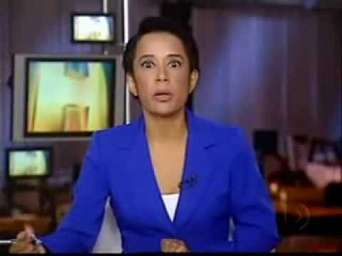 Jornal Hoje/Globo - Zileide Silva e seu mico ao vivo