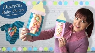 getlinkyoutube.com-Biberon Dulcero :: Baby Shower DIY :: Chuladas Creativas
