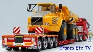 getlinkyoutube.com-WSI Mercedes-Benz Actros + Nooteboom 4+2-axle Trailer by Cranes Etc TV