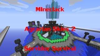 getlinkyoutube.com-Agrarian Skies 2 Server - Mineclack 1.7.10 - Servidor survival