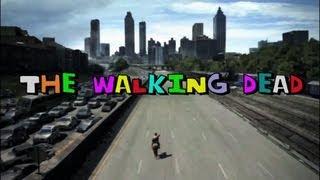 The Walking Deadをホームドラマにしたようなオープニング