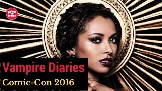 SDCC 2016: Kat Graham fala sobre Bonnie e Enzo em The Vampires Diaries