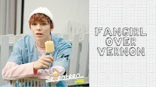 getlinkyoutube.com-Seventeen (세븐틴) - Fangirl Over Vernon