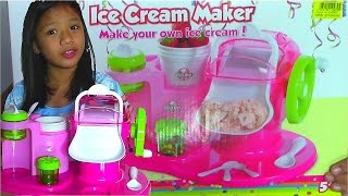 getlinkyoutube.com-Young Chef Ice Cream Maker - Make Your Own Ice Cream