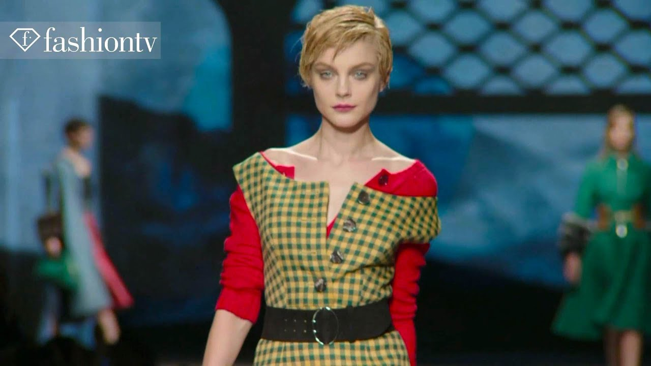 Prada Fall/Winter 2013-14 FIRST LOOK | Milan Fashion Week MFW | FashionTV