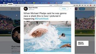 Media Watch - Trial of 17 Turkish journalists;  Phelps flops in man v shark challenge