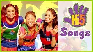 Hi-5 Songs | Move Your Body & More Kids Songs - Hi5 Season 14 Songs of the Week